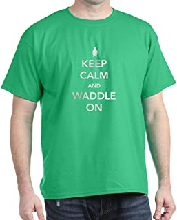 Keep Calm and Waddle On T-Shirt Cotton T-Shirt