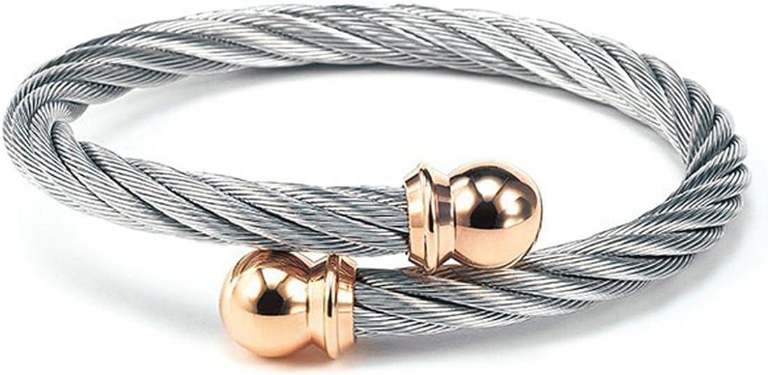 CHARRIOL New Celtic Jewels Bracelet Bangle 04-102-1216-0 Medium Unisex Jewelry