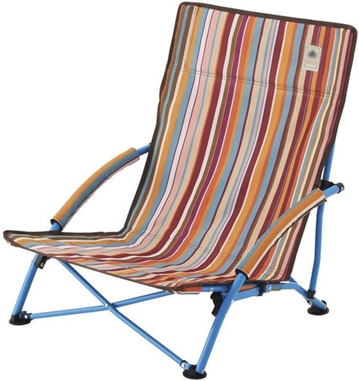 Silla portátil de jardín. Silla Plegable al Aire Libre Silla de Playa Silla de Camping Silla de Barbacoa Silla de Viaje Asiento Plegable