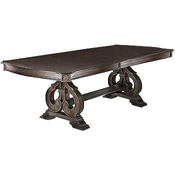 247SHOPATHOME Liebelt Dining Table, ivory