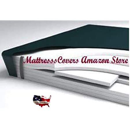 California King aveless Hardside Waterbed MattressW