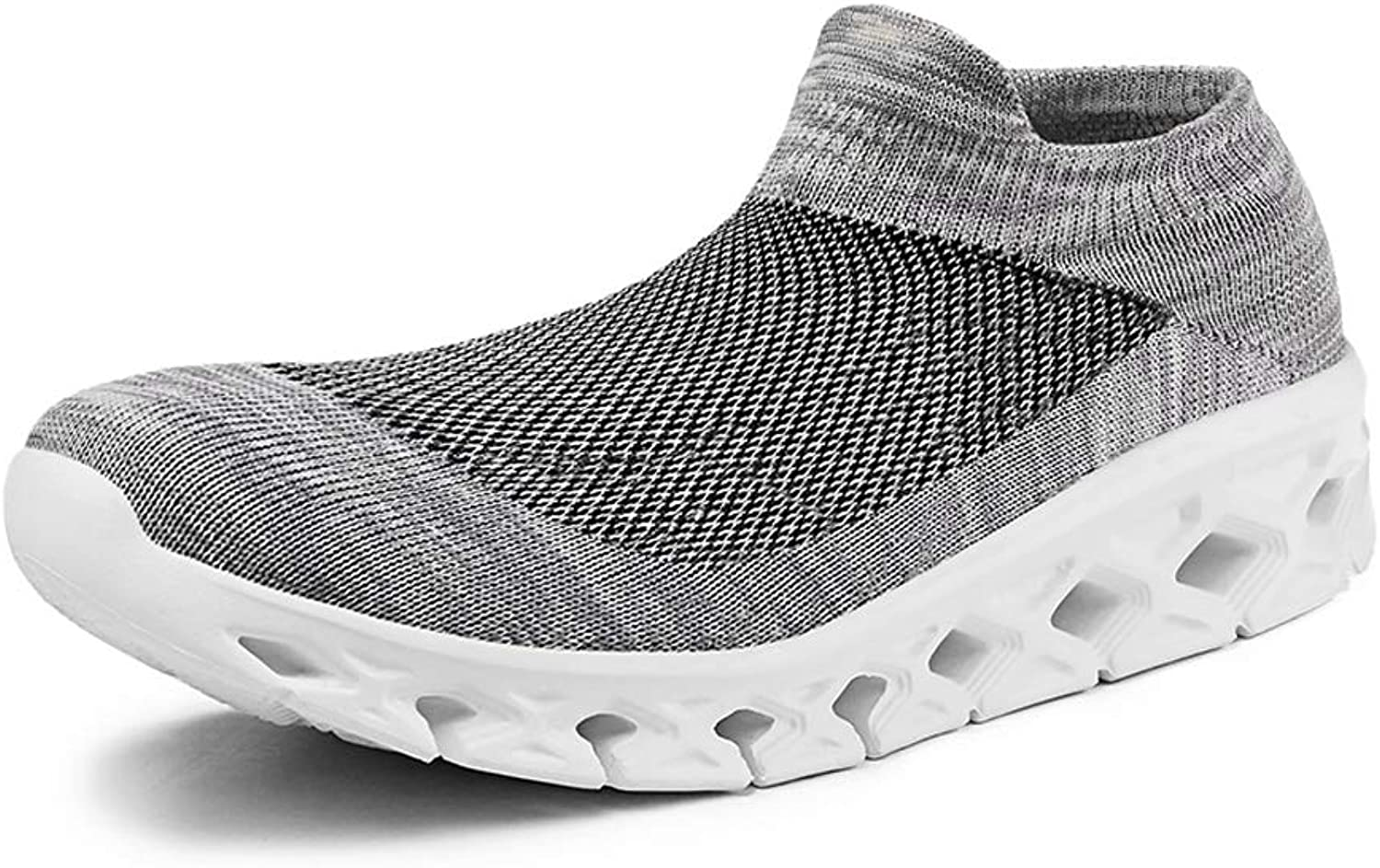 Mens Womens Ultra-Light Breathable Mesh Walking shoes Non-Slip Sports Running shoes.