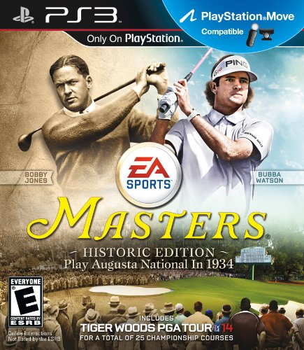 Tiger Woods PGA TOUR 14: Masters Historic Edition - Playstation 3
