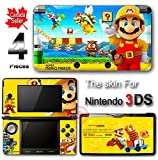 Super Mario Maker Special Edition Skin Sticker Decal Cover for Original 3DS