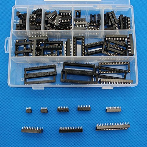 Raogoodcx 110 Pieces 2,54 mm Pitch DIP IC Enchufes Tipo