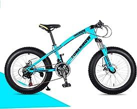 ZYZYZY Mountain Bike Super Wide Tire Lightweight High-Carbon Steel Road Bike Variable Speed Disc Brake All Terrain MTB Racing Bicycle