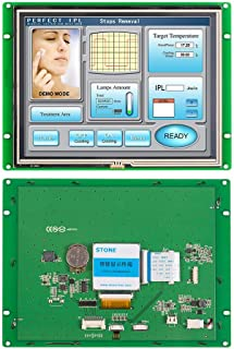 8 Inch HMI Serial TFT LCD Display Module with Program + Touch Screen for Equipment Control HMI,TFT Display,Serial LCD (8 I...