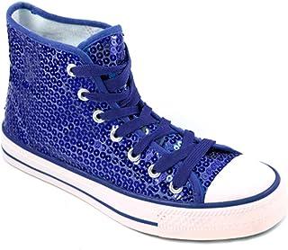 Party-Factory-Ladenburg Baskets pour Femme Bleu Bleu