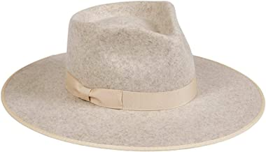 Lack of Color Women's Carlo Rancher Wool Fedora Hat