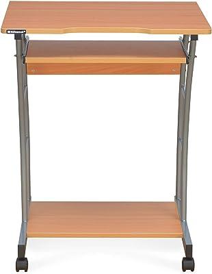 Nilkamal Leo Engineered Wood Computer Desk Walnut Finish Beige