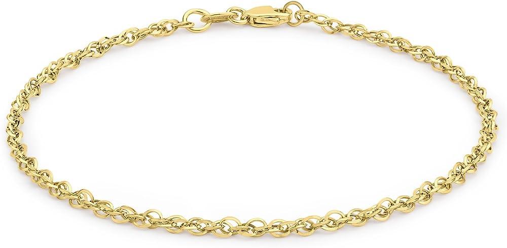 Carissima gold bracciale da donna in oro giallo 9ct (0.88 grammi) 1.29.4301