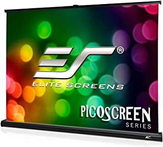 Elite Screens PicoScreen™ Series, 35-inch 4:3, Light-Weight Portable Table-Top Pull-Up Home Movie/Theater/Office Projectio...