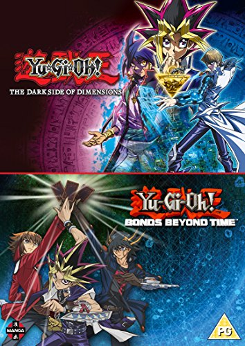 Yu-Gi-Oh! Movie Double Pack: Bonds Beyond Time & Dark Side of Dimensions [DVD] [UK Import]