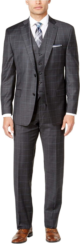 Michael Reservation Kors Mens Classic Fit quality assurance Formal Button Two Suit
