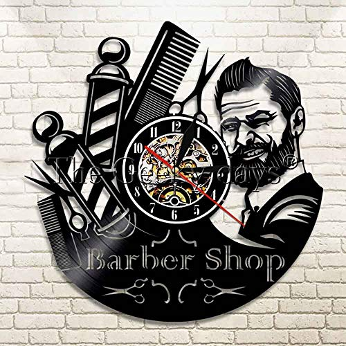 Zhuhuimin Cuidado del Cabello barbero CD de barbero montado