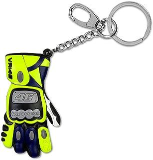 Valentino Rossi VR46 Moto GP Sun & Moon 3D Glove Key Ring Official 2019