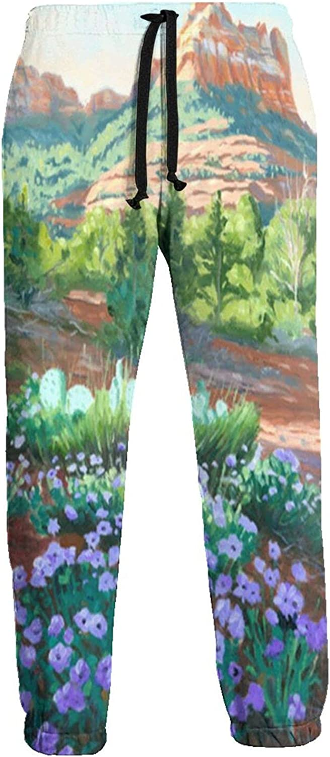 Kimisoy Sweatpants for Men Verbena in Award-winning store Comfy Bloom Outlet sale feature Pants w Jogger