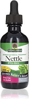 Nature's Answer Nettle Leaf with Organic Alcohol, 2-Fluid Ounces | Herbal Supplement | Promotes Immune Heath | Non-GMO, Ko...