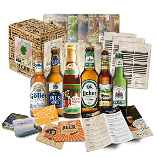 '6 Especialidades de Cerveza Alemana' Colección de la mejor cerveza alemana. Una de las mejores ideas de regalo para hombres (Cumpleaños, Navidades, Reyes, Aniversario)