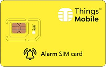 SIM Card for Alarm System/Anti-Theft GSM / 2G / 3G / 4G with Credit Included of $ 10