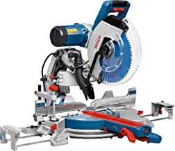Bosch Professional 0601B23600 Troncatrice Radiale GCM 12 GDL, Laser a Doppia Linea, Pinza di Serraggio, Diametro Foro dell...