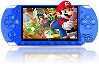 twbbt 4.3 Inch 32 Bit Handheld Pocket Game Machine,Built-in 10000 Games 8GB Portable Console MP4 Player