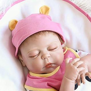 48cm 19 Inch Rebirth Doll Reborn Doll, Lifelong Reborn Babies Doll, Full Vinyl Babies Doll, Kids Doll To Toys