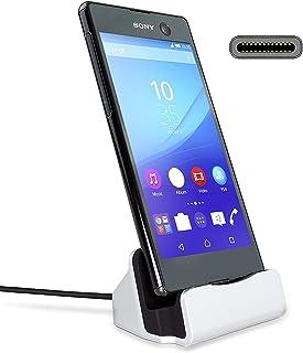 Gosento Type-C 卓上ホルダー 充電 スタンド USB-C チャージャー クレードル 充電器 データ転送 Sony Xperia XZ2 /Xperia XZ3/ Google Pixel 3 XL/Google Pixel 3 な...