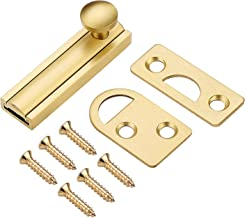 Deurvergrendeling vergrendeling, messing deurvergrendeling poort schuifbout antidiefstal beveiliging ramen messing deurver...