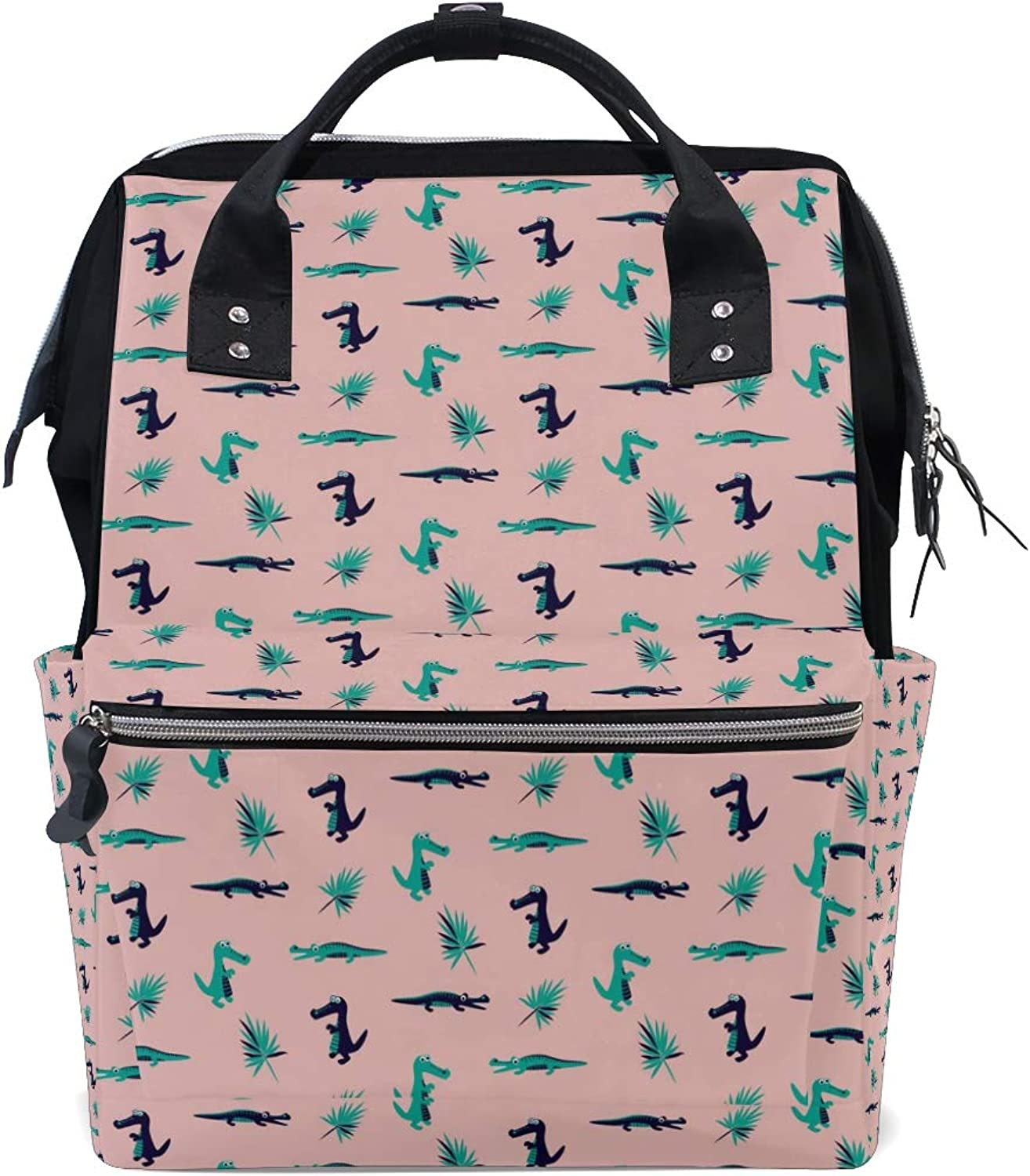 Fashion and Leisure Dinosaur and Croco Backpack Leisure Travel School Backpack