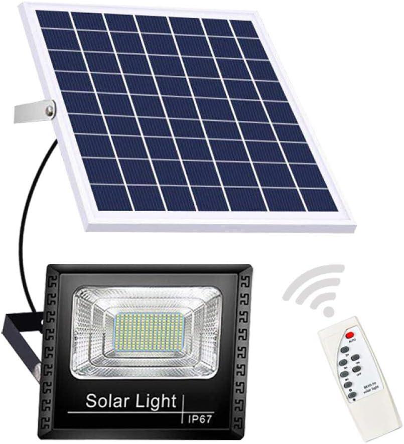TEQIN Remote Control Max 73% OFF Solar Lighting Lights Street Bargain Garden