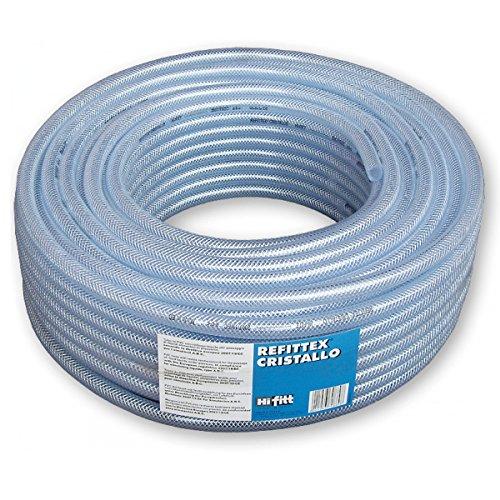 0,56€/m 50 m Druckluftschlauch Gewebeschlauch Schlauch Druckschlauch Luftschlauch PVC-Schlauch 8x3 mm