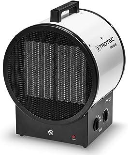 TROTEC Calefactor cerámico TDS 50 M de 9 kW, Dos Niveles de calefacción más una Etapa separada de Aire frío, Protección contra sobrecalentamiento, Duradero, Robusto, silencioso