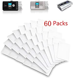 Generic Remsed CPAP 10 Filters, Disposable Replacement Filters CAPA Filters for ResMed AirSense 10, ResMed AirCurve 10,ResMed S9, AirStart and Series CPAP Machines(60Packs)