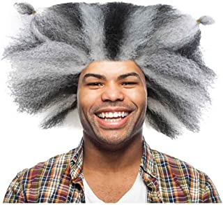 Cats Musical Wig, Black & White Adult HM-610A
