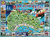 White Mountain Puzzles Mackinac Island - 1000 Piece Jigsaw Puzzle