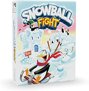 Snowball Fight Playing Card Game