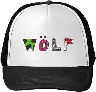 No 5. Tyler–El Creador Wolf logotipo de impresión malla Sun Caps Snapback sombreros