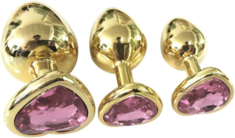 WENWING 3 Ranking TOP1 Pcs Waterproof Jewelry B'ut.t Max 85% OFF D Rhinestone Plug Design
