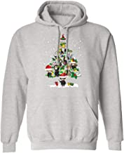 LoveLoveStore Funny Best Friends Harry Magical Wizard Potter Christmas Tree Hoodie