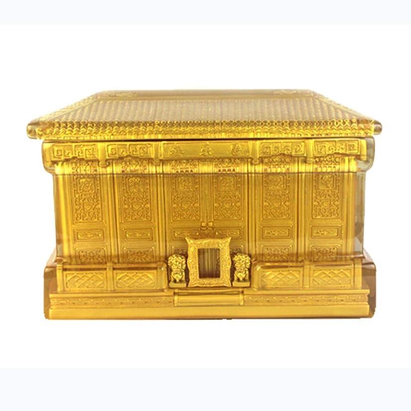 グラス原点ベアリングハイエンドの絶妙な棺、葬儀用品、Leju骨壷、シチリアクリスタルボックス