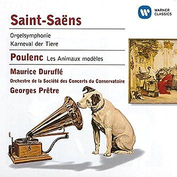 Saint-Saëns:Symphony No.3/Caranaval des animaux/Les Animaux modèles