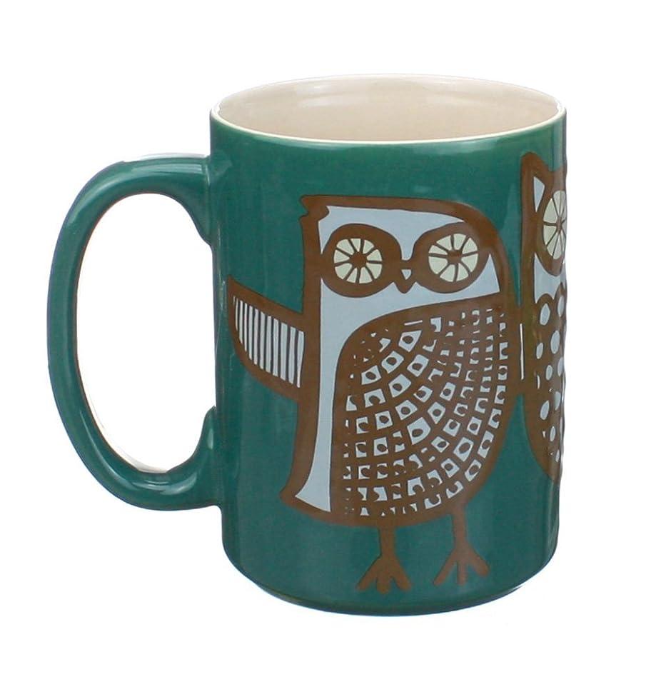 Kitsch'n Glam Owl Mug (Teal)