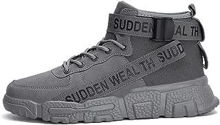 [スポシー] スニーカー メンズ シューズ ウォーキング ランニング 靴 厚底 24.5~25.5