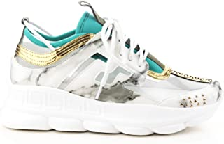 Cape Robbin Athena Lace Up Clear Crazy Sexy Cool Multi Platform Wedge Sneakers