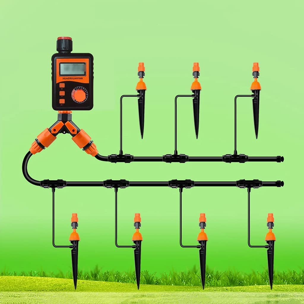 BBGS Drip Irrigation Kits [Alternative dealer] with Nippon regular agency Blank Watering DIY Timer System