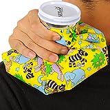 Bolsa de hielo - Tapón de rosca - Marca Neotech Care - Diseño (animales, 20cm)