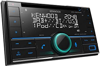 $184 » Kenwood Car Audio DPX-5200BT 2-Din CD-Receiver with Built-in Bluetooth