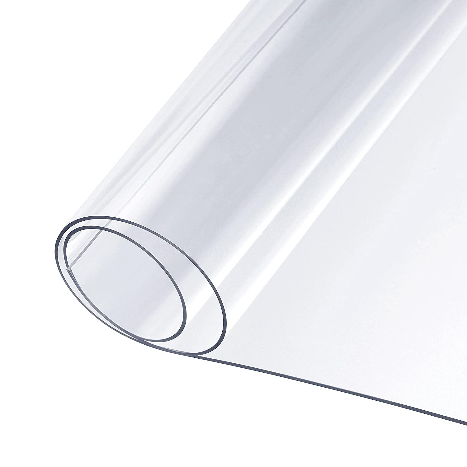 uxcell Ranking TOP4 1.3mm Thick 20 inch New product!! x 500mm 180 PVC Clear Sheet 72
