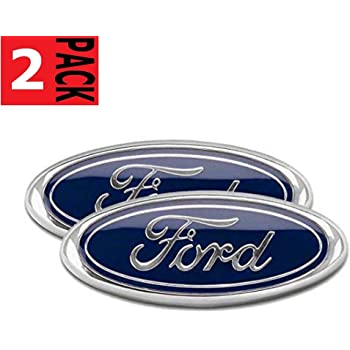 1x F150 Rear Tailgate Emblems 3D Badge Stickers Replacement for 2004-2008 F150 F-150 Rear Trunk Chrome Aruisi